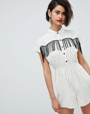 Western Style Playsuit