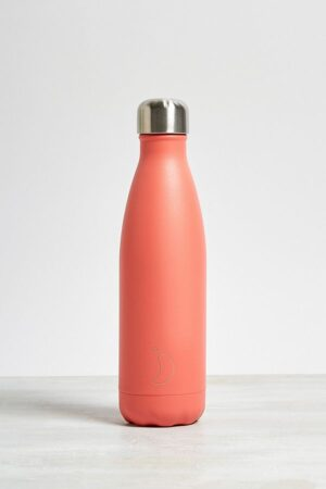 Chilly's Peach 500ml Stainless Steel Water Bottle